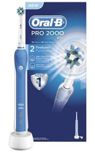 Oral B Pro 2000 Electric Toothbrush that we sell at New Street Dental Care