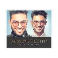 missing teeth white
