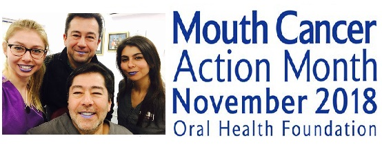 mouth cancer awareness month at Andover dentist