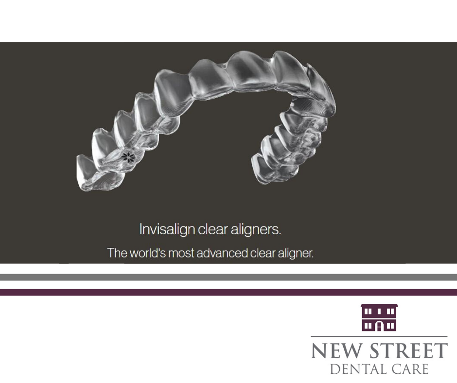 Invisalign available at New Street Dental Care